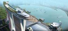 Незвичайна готель Marina Bay